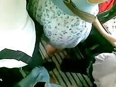 Hot chick in a bus, filmed by guy with voyeur web cam
