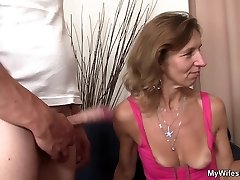 She is railing not stepson in law cock