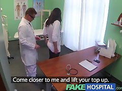 FakeHospital Doctors magic cock produces vocal orgasms from horny patient