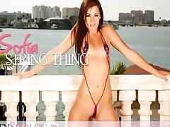Sexy teen girl Sofia Kasuli