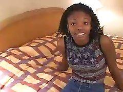 Young ebony Divine