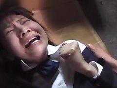 اليابانية Blazor فتاة في المدرسة Rachikankin Kayama 01