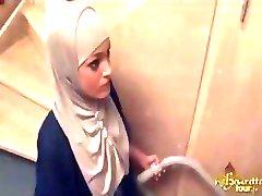 Arabi Cameriera Profondamente Culo Scopata