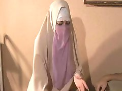 Hijabi Muslimah zanič sperme out Ogromne 10 inch Zahodni Petelin