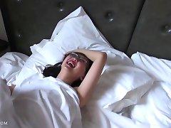 big tits asian teen fuck in glasses