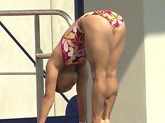 Cute Asian Diver