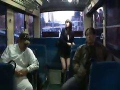 japoneze sex in gasca in interiorul unui autobuz