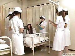 Arrêter le temps pour lui caresser les Japonais infirmières!