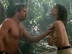 Tawny Kitaen nudo sotto la pioggia con il duro bagnato capezzoli