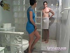 Lelu LoveWEBCAM Visage De Douche Poledancing