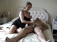 CGS - MATURE COUPLE RIDING FUN