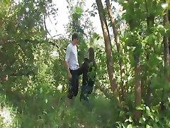 أول اختراق في الغابة