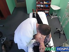 FakeHospital Hot Tattoo Patient cured with hard cock treatment