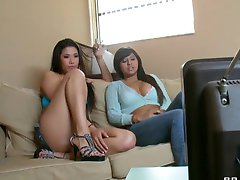London Keyes and Jade Kennedy