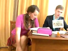 Russian Home teacher gives extra lessons