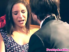 Glamour pornstar Abella Danger facialized