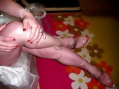 Turkish CrossDresser Buse Naz Arican FOOT FETISH 2012