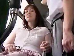 Мастурбация на автобусе