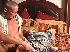 Teen Babysitter USED by Senior MAN