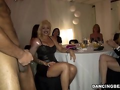 Sexy gals enjoy dick party