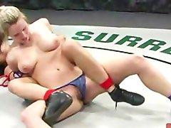 Bitches Wrestle Naked