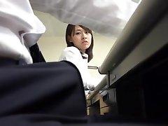 Колготки секретарь Миниюбка в офисе 3