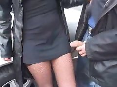 Betrunkene Frau wird gefickt - na Prostem