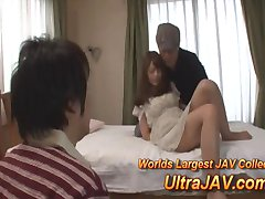 Japanese Wife Fucked In Front Of Helpless Husband
