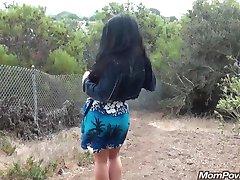 грубые зрелые кугуар трахается за пределами