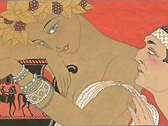 эротика арт джорджа барбье 3 - виэс воображаемая любовь
