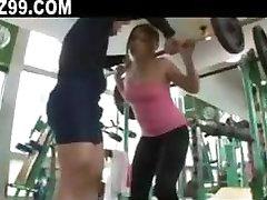 OL seduced fucked by gym coach 01