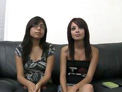 2 Latin Teens & White Meat!
