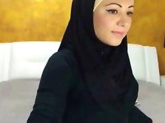 sexy hijabi fata pe cam