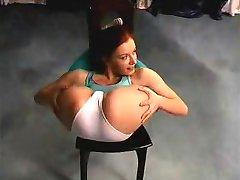 flexibele sexy chick