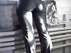 Cameltoe Spandex Leggings Pantyhose part 4