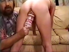 Extreme fist on my wife. Amateur homemade