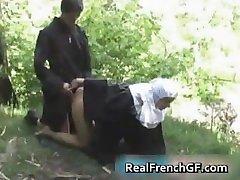 Kurvás francia apáca baszva kívül pornó part4