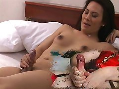 funny cumpilation of shemale cumming