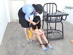 chinese girl at jail