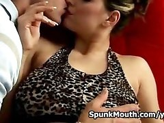 Big Titted porno slut Liana titty fucked hardcore pounding for a big cumshot