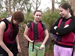 Rafting a lányok a szex, a rapids