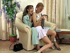 lesbiene femeia patrunde barbatul