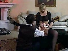 A hölgy pedig szobalány kötve, öklözés