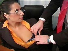 Sexy Daria Glower office smash is superb
