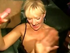 Dirty English superslut - Mass Ejaculation party 04