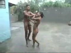 Indiai Esős szabadtéri Szex