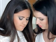 Very First time by Sapphic Erotica - lesbian love porno with