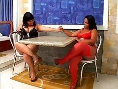Linette & amp; amp Natalia - Chubby Brasilianerne