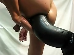 Giant fake penis compilation