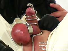 Saline balls - Steel harness